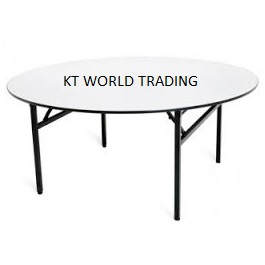 round-folding-table-round-banquet-table office furniture malaysia selangor shah alam kuala lumpur petaling jaya