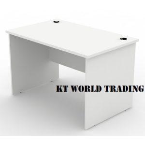 WRITING TABLE 1200750 full white office furniture malaysia selangor klang valley shah alam kuala lumpur