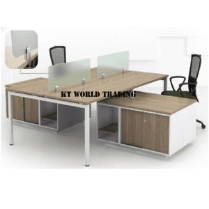 4ppl open concept workstation office furniture malaysia selangor shah alam kuala lumpur petaling jaya