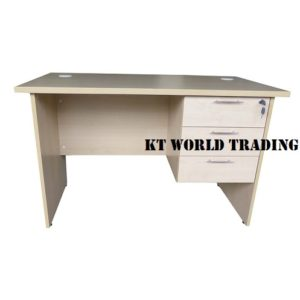 TOP FOAM WRITING TABLE WITH FIXED PEDESTAL 1