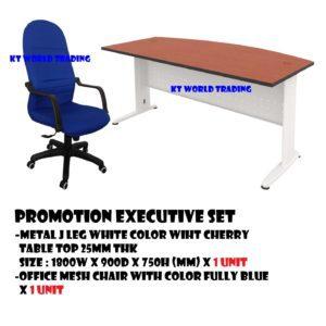 EXECUTIVE TABLE AND HIGHBACK CHAIR - KT-PS3 OFFICE FURNITURE MALAYSIA SELANGOR PETALING JAYA KUALA LUMPUR SHAH ALAM