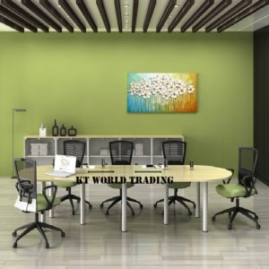 BIC 36 OVAL CONFERENCE TABLE (INCLUDED YC400 2 UNITS) OFFICE FURNITURE MALAYSIA SELANGOR SHAH ALAM KUALA LUMPUR KLANG VALLEY
