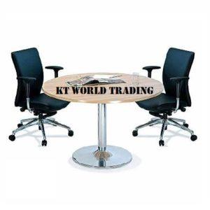 ROUND MEETING TABLE KT-B090 & 120 discussion table office furniture malaysia selangor shah alam kuala lumpur petaling jaya