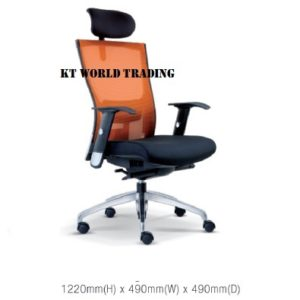 KT2111H EXECUTIVE OFFICE HIGHBACK MESH CHAIR office netting chair office furniture malaysia selangor kuala lumpur ampang cheras