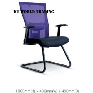 KT2117S EXECUTIVE OFFICE CONFERENCE VISITOR MESH CHAIR office netting chair office furniture malaysia selangor kuala lumpur ampang cheras