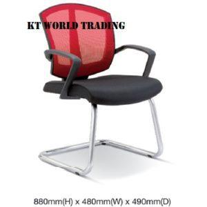 KT2562S OFFICE MESH CONFERENCE VISITOR CHAIR office netting chair office furniture malaysia selangor kuala lumpur shah alam petaling jaya kota kemuning
