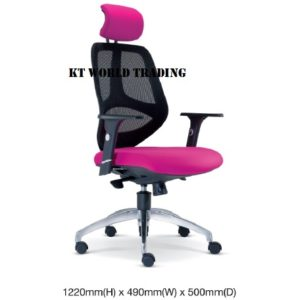 KT2661H EXECUTIVE OFFICE HIGHBACK MESH CHAIR office netting chair office furniture malaysia selangor shah alam kuala lupur damansara sugai besi