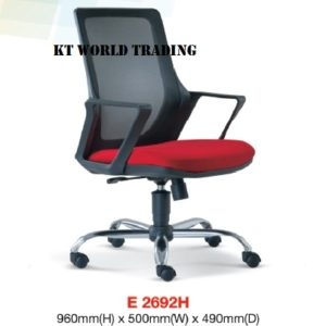 KT2692H MESH LOWBACK CHAIR office netting chair office furniture malaysia selangor shah alam kuala lumpur puchong damansara