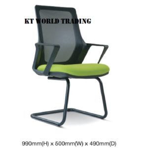 KT2696S MESH CONFERENCE VISITOR CHAIR office netting chair office furniture malaysia selangor shah alam kuala lumpur puchong damansara