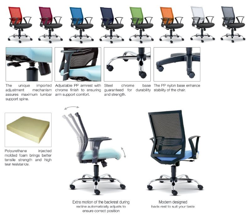 Office Mesh Chair Office Netting Chair Office Furniture