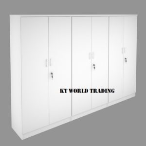 KT-3WD CABINET CONFIGULATION COLOR FULLY WHITE office furniture malaysia selangor kuala lumpur shah alam petaling jaya