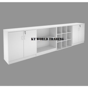 KT-4LC CABINET CONFIGULATION COLOR FULLY WHITE office furniture malaysia selangor kuala lumpur shah alam petaling jaya