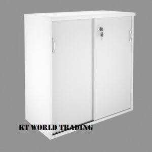 KT-SL SLIDING DOOR CABINET WITH COLOR FULLY WHITE office furniture malaysia kuala lumpur shah alam klang valley
