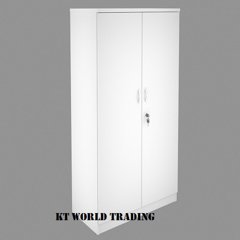 KT-WD HIGH CABINET WITH SWINGING DOOR COLOR FULLY WHITE office furniture malaysia selangor kuala lumpur shah alam klang valley