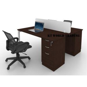 MU2CA-F4 WOODEN PANEL WALNUT office furniture malaysia selangor kuala lumpur shah alam petaling jaya subang jaya