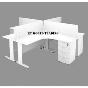 OFFICE FURNITURE SET WITH METAL J LEG office furniture malaysia selangor kuala lumpur shah alam petaling jaya puchong