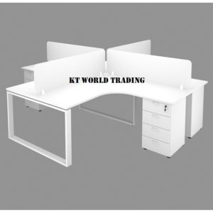 OFFICE FURNITURE SET WITH METAL SQUARE LEG office furniture malaysia selangor kuala lumpur shah alam petaling jaya damansara