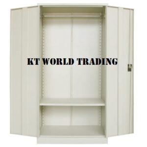 F.H WARDROBE WITH STEEL SWINGING DOOR CW 1 H.BAR(TOP) & 1 SHELVES(BTM) S200 steel furniture office furniture malaysia selangor shah alam kuala lumpur petaling jaya
