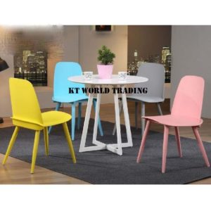 kt-859T-W ROUND TABLE kt-56019c DESIGNER CHAIR restaurant chair restaurant table malaysia selangor shah alam kuala lumpur klang valley