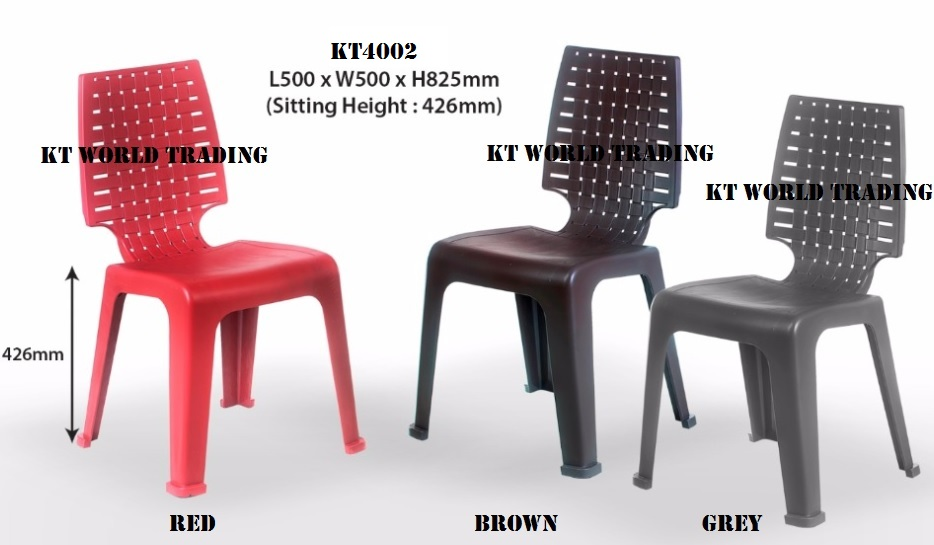 Kt4002 Plastic Chair Restaurant Office Furniture Malaysia