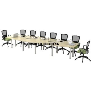 KT-B48 BOAT-SHAPE CONFERENCE TABLE (INCLUDED YC400 2 UNITS) OFFICE FURNITURE MALAYSIA SELANGOR SHAH ALAM KUALA LUMPUR KLANG VALLEY