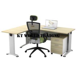 kt1815 SUPERIOR COMPACT TABLE (L) OFFICE FURNITURE MALAYSIA SELANGOR SHAH ALAM KUALA LUMPUR KLANG VALLEY