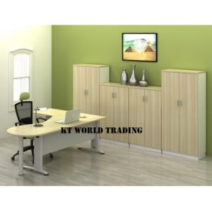 KT-B44-4D-SET WRITING TABLE WITH CABINET OFFICE FURNITURE MALAYSIA SELANGOR SHAH ALAM KUALA LUMPUR KLANG VALLEY