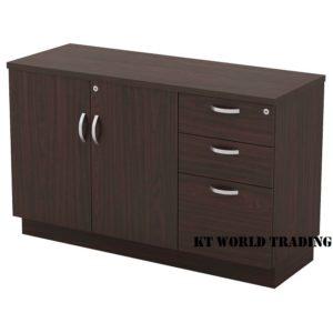 kt-edp750(3) SWINGING DOOR + FIXED PEDESTAL 2D1F office furniture malaysia selangor kuala lumpur shah alam klang valley