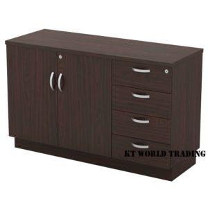 KT-EDP750(4) SWINGING DOOR + FIXED PEDESTAL 4D office furniture malaysia selangor kuala lumpur shah alam klang valley