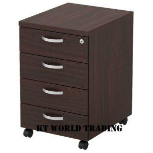 KT-EX4 MOBILE PEDESTAL 4D office furniture malaysia selangor kuala lumpur shah alam klang valley