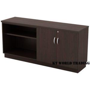 KT-EOD750 OPEN SHELF + SWINGING DOOR LOW CABINET office furniture malaysia selangor kuala lumpur shah alam klang valley