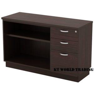 KT-EOP750(3) OPEN SHELF + FIXED PEDESTAL 2D1F office furniture malaysia selangor kuala lumpur shah alam klang valley