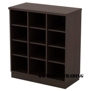 Kt-Ep9 PIGEON HOLE LOW CABINET office furniture malaysia selangor kuala lumpur shah alam klang valley