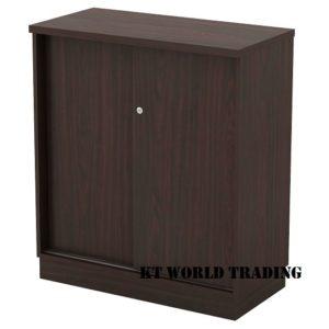 kt-esd9 SLIDING DOOR LOW CABINET office furniture malaysia selangor kuala lumpur shah alam klang valley
