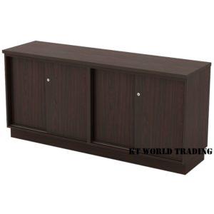 KT-ESS750 DUAL SLIDING DOOR LOW CABINET office furniture malaysia selangor kuala lumpur shah alam klang valley