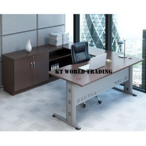 KT-Q11 TABLE + CABINET office furniture malaysia selangor kuala lumpur shah alam klang valley