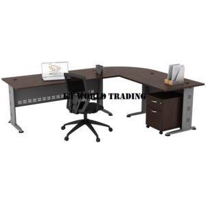 KT-Q188 TABLE + MOBILE PEDESTAL office furniture malaysia selangor kuala lumpur shah alam klang valley