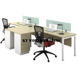 kt-pw18 L SHAPE WORKSTATION OFFICE FURNITURE MALAYSIA SELANGOR SHAH ALAM KUALA LUMPUR KLANG VALLEY
