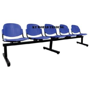 KT-680-5 5 seater link chair office furniture malaysia selangor kuala lumpur shah alam klang valley