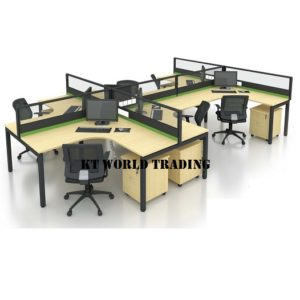 KT-PW19 office partition workstation office furniture malaysia selangor shah alam kuala lumpur klang valley