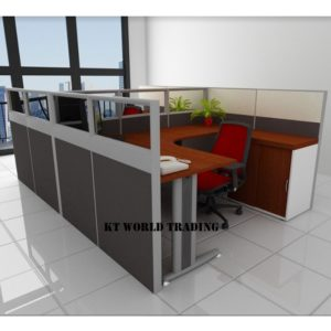 KT-PW24 office partition workstation office furniture malaysia selangor shah alam kuala lumpur klang valley