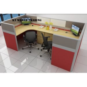 KT-PW20(FF) office partition workstation office furniture malaysia selangor shah alam kuala lumpur klang valley