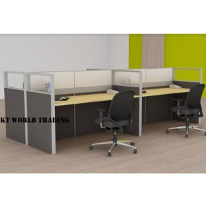 KT-PW4A office partition workstation office furniture malaysia selangor shah alam kuala lumpur klang valley