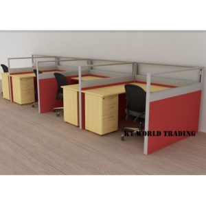 KT-PW25 office partition workstation office furniture malaysia selangor shah alam kuala lumpur klang valley