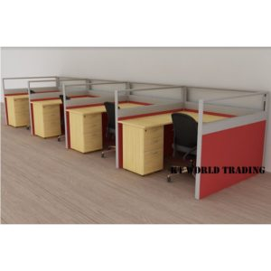 KT-PW25A office partition workstation office furniture malaysia selangor shah alam kuala lumpur klang valley
