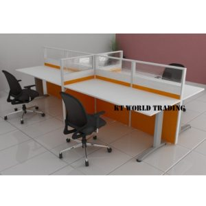KT-PW4B office partition workstation office furniture malaysia selangor shah alam kuala lumpur klang valley