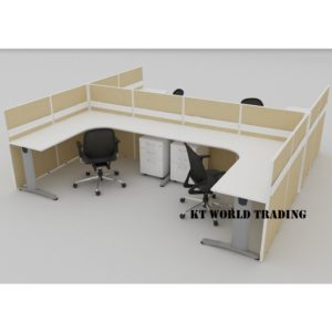KT-PW21A office partition workstation office furniture malaysia selangor shah alam kuala lumpur klang valley