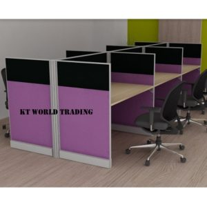 KT-PW22(FF) office partition workstation office furniture malaysia selangor shah alam kuala lumpur klang valley