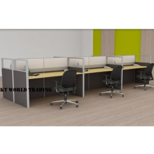 KT-PW22(FP) office partition workstation office furniture malaysia selangor shah alam kuala lumpur klang valley