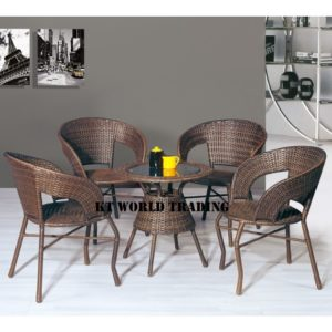 GARDENT SET KT-8863C+T black orange cusion garden table garden chair malaysia selangor kuala lumpur petaling jaya shah alam